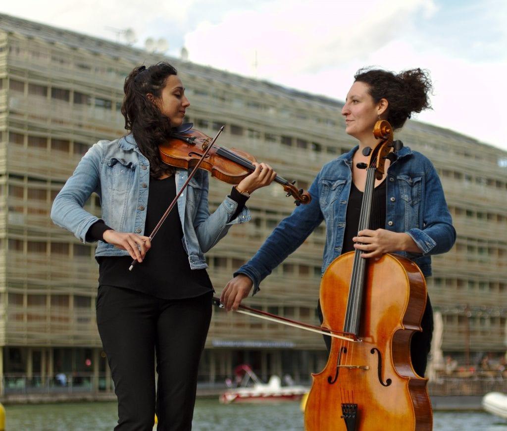 Lucie Arnal & Apolline Kirklar
